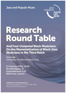 Plakat Research Round Table; Foto: privat